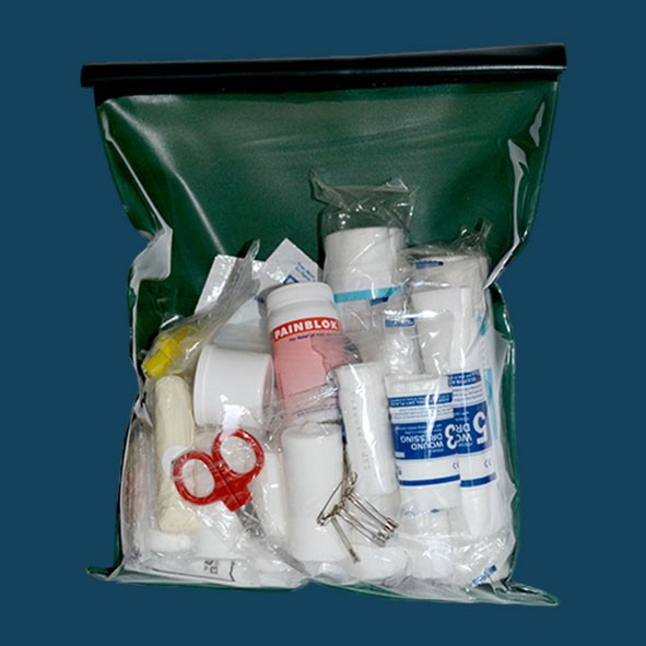 SOLAS FIRST AID KIT IN VINYL POUCH
