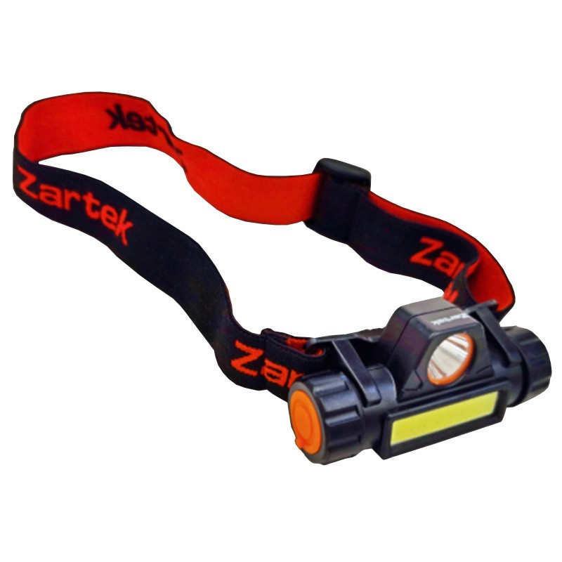 ZA-437 RECHARGEABLE HEADLAMP - DIMMER WITH DUAL BEAMS