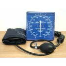 WALL MOUNTED BLOOD PRESSURE METER ANEROID SQUARE