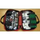 FIRST AID KIT - ESSENTIAL KIT - BLUE OR RED BAG WITH HANDLES