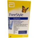 FREESTYLE OPTIUM NEO GLUCOMETER STRIPS (50'S)