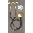 HI CARE STETHOSCOPE – PROFESSIONAL SINGLE HEAD SATIN or GOLD STETHOSCOPE – ELITE TYPE