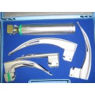 LARYNGOSCOPE SET FIBRE OPTIC – 4 BLADE SET